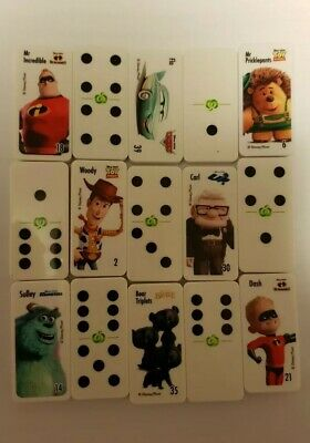 Woolworths Dominoes DISNEY PIXAR Collectables 2 for $1.00