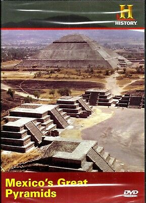Mexico's Great Pyramids. History Channel Doco. Brand New In Shrink!