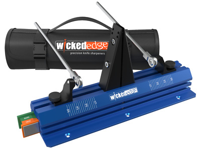 Wicked Edge GO Knife Sharpener with Deluxe Bag WE52 NEW