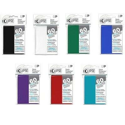 Ultra PRO Eclipse Pro-Matte Deck Protectors Small Card Size 60ct 62x89mm