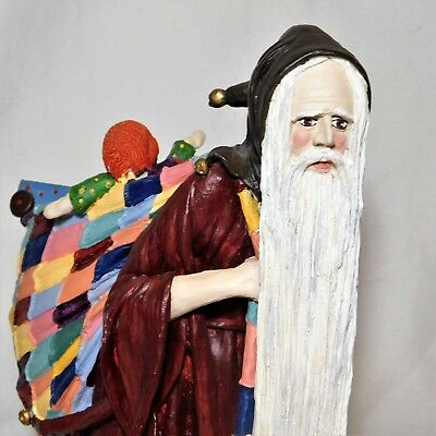 "Duncan Royale Medieval Santa Clause Christmas 12"" 1983 Numbered Original Box"