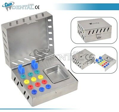 Dental Surgical Instruments Empty Sterilization Box for Implant Tools Dental CE