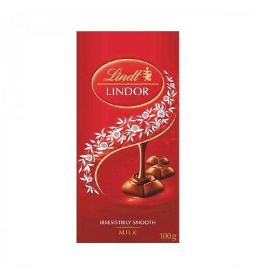 Lindt Lindor Milk Chocolate 100g x 10
