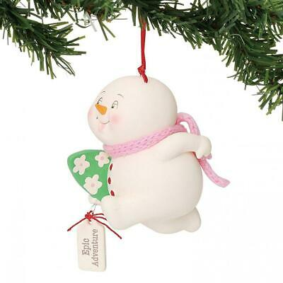 Multicolor 6000941 Department 56 Snow pinions Hanging Ornament