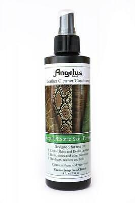 Angelus Reptile/Exotic Skin Leather Cleaner/Conditioner 8 Ounces