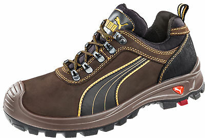 3b21e9c83b6b PUMA SAFETY BROWN Mens Leather Sierra Nevada Low EH WRU LaceUp Work Boots -   114.99
