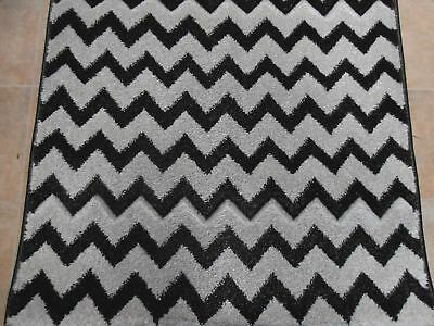 Hallway Runner Carpet Rug Chevron 80cm Wide Picasso Per Metre Floor Rugs Hall