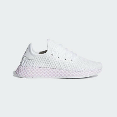 promo code 04416 747f1 Adidas Originals DEERUPT B37601 Cloud White  Clear Lilac Womens Shoes  Sneakers