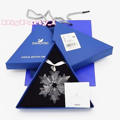 2018 Swarovski Crystal Annual Snowflake Large Chrisrmas Gfit Ornament 5301575
