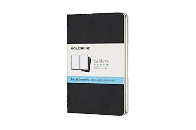 Moleskine Cahier Journal Pocket Dotted Black 3.5 X 5.5 by Moleskine Gift Quality