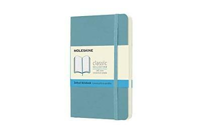 Moleskine Classic Notebook Pocket Dotted Reef Blue Soft Cover 3.5 X 5.5