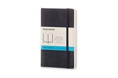Moleskine Classic Notebook Pocket Dotted Black Soft Cover 3.5 X 5.5 Gift Quality