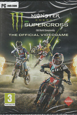 Monster Energy Supercross The Official Videogame (PC CD) Brand new and sealed