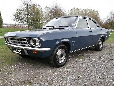 1968 Vauxhall Ventora Fd 3.3 Litre Auto, Very Rare, Well Known Car, Beautiful!!!