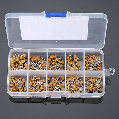 300pcs 50V 10 Values 10pF~100nF Ceramic Disc Capacitors Assortment Kit