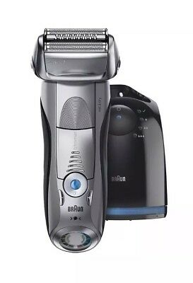 Braun Series 7 7898cc Men's Electric Foil Shaver Wet Dry - Clean Charge Station