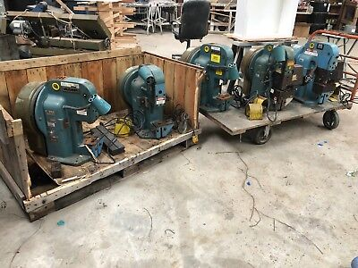 AMP-O-Lectric Terminating Crimping Press Machine Model K being sold individually