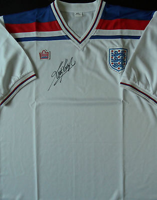KEVIN KEEGAN In Person Signed Retro Shirt ENGLAND & LIVERPOOL Legend Proof COA
