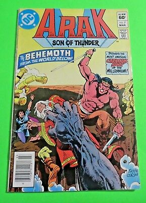 Arak Son of Thunder #7 DC Comics Bronze Age (1982) C2208