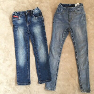 2 Pairs of Jeans Lee / H&M size 4/5 VGUC