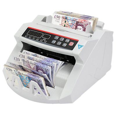 Bank Note Currency Counter Count Detector Money Fast Banknote Pound Cash RB