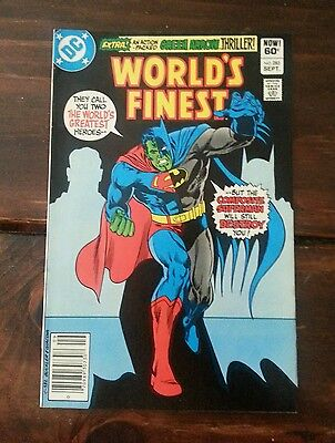 Worlds Finest Comics #283 - Superman & Batman Composite Superman - 1982