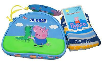 Peppa Pig Kids Purse With Socks,Peppa Pig Coin Pouch,Original,Official Licensed!