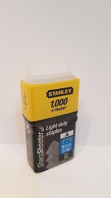 Stanley STA0TRA205T Light-Duty Staple 8mm x 1000