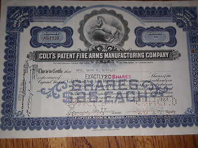 Colts's Patent Fire Arms Manufacturing Company