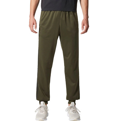 NEW adidas Men's Essentials 3-Stripes Tricot Tapered Jogger pants