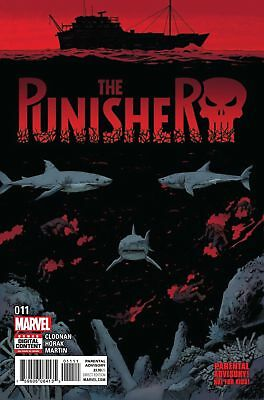 THE Punisher #11 MARVEL COMICS COVER A 1ST PRINT 2017