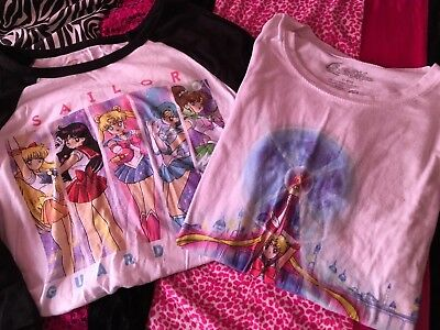Sailor Moon Tshirt Lot Large-XL