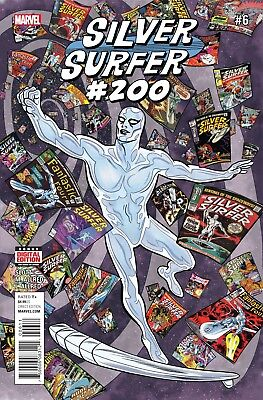 Silver Surfer #6 MARVEL COMICS 2016 SLOTT ALLRED COVER A