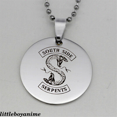 Riverdale South Side Serpents Necklace Pendant Accessory Collection Jewelry Gift