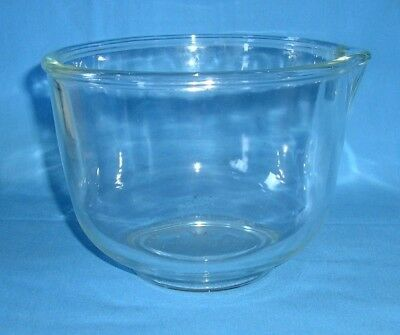 Fire-King for Sunbeam  - Small Glass Mixing Bowl with Spout