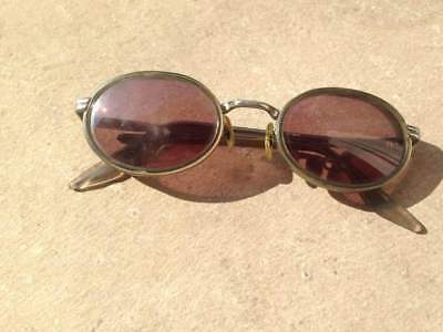 LUNETTES DE SOLEIL RAY BAN B L VINTAGE PRAWN SOLAIRES RAYBAN Bausch   Lomb 51db328f70ee