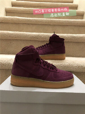 size 40 f5333 340a7 Nike Air Force 1 High Wb Bordeaux Gs Kid s Casual Shoe 922066-600