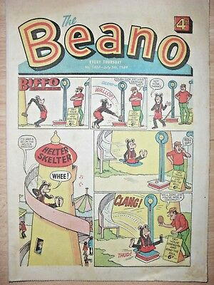 BEANO COMIC - 5th JULY 1969 - NOVEL 50th BIRTHDAY GIFT!!