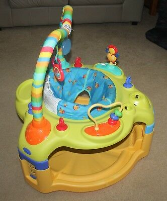 Bright Starts Activity Center Exersaucer Bounce and Learn - Very Good Condition!