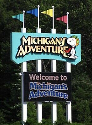 Michigan's Adventure $33 A Promo Discount Tool Savings Tickets + Parking + Meal