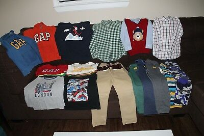 Boys Fall/Winter 25 Piece Lot Size 6T-7T – Items are in Good Used Condition