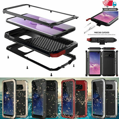 For Samsung Galaxy Note 9 8 SHOCKPROOF Aluminum Gorilla METAL Cover Case