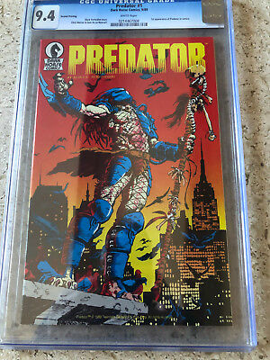Predator 1 Second Print Cgc 9.4 . Dark Horse 1989