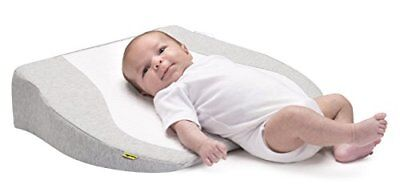 BABYMOOV Cosymat Cot / Crib Wedge Smokey Grey/White
