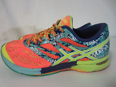 Women's Shoes Asics T580n Gel Noosa Tri 10 Women Neon Blue Active Running Athletic Shoes Sz 10 A Great Variety Of Models Clothing, Shoes & Accessories