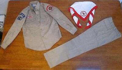 VERY RARE 1960s ROYAL RANGERS UNIFORM - ORIGINAL CUT EDGE & PEN.-FLORIDA PATCHES