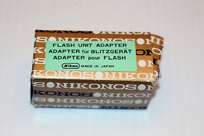 Nikonos Flash PC Unit Adapter #10729 for III IV IVa V 35mm **NEW IN BOX**