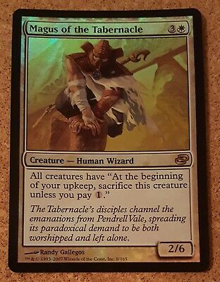 Magus of the Tabernacle FOIL Rare White Wizard Creature Magic MTG Planar Chaos