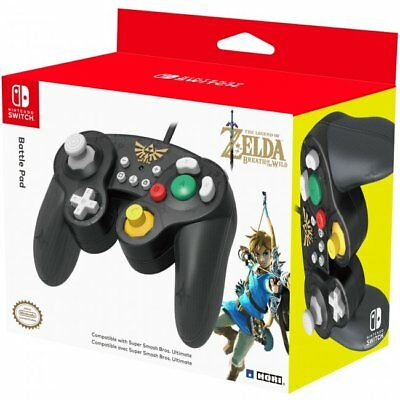 Switch Battle Pad Wired Controller - Zelda (Hori) NEW
