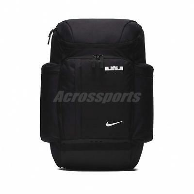 d4b7e162220b8 Nike LeBron James Backpack Basketball Bag Max Air Training Gym Black  BA5563-010